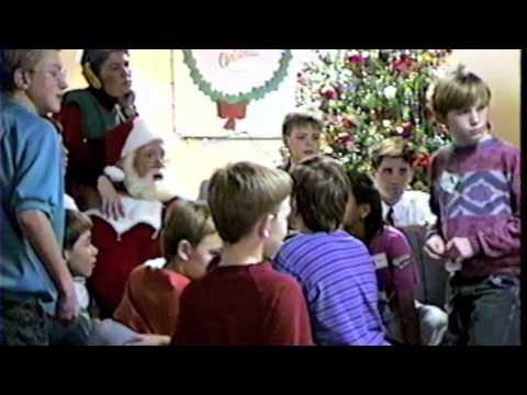 Phil Baker/Tom Roberts (Santa) Perform @ Children's Home