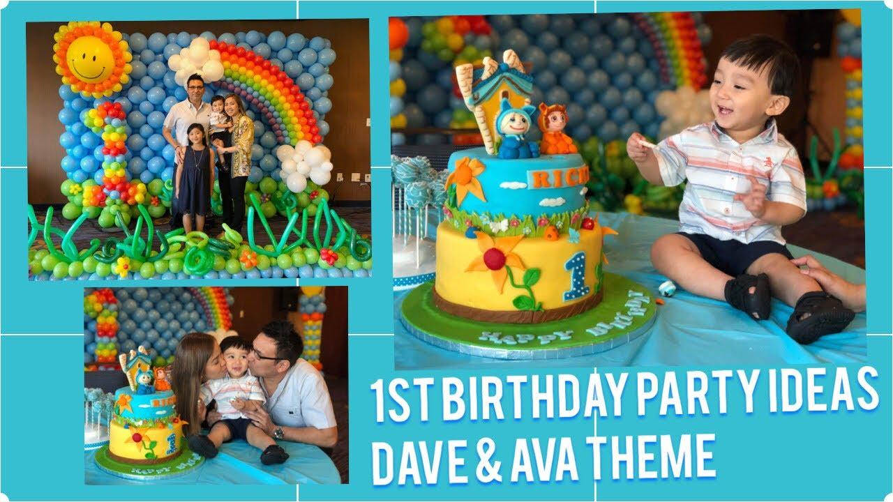 DIY Dave and Ava Cake Topper Dave Printable