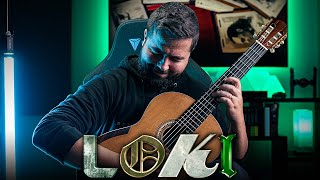 LOKI Main Theme - Classical Guitar Cover