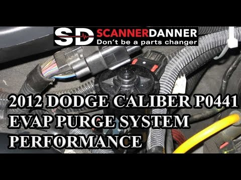 2012 Dodge Caliber P0441 Evap Purge System Performance