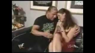 احلى قصة حب تربل اتش وستيفانى مكمان Triple h and Stephanie Love story