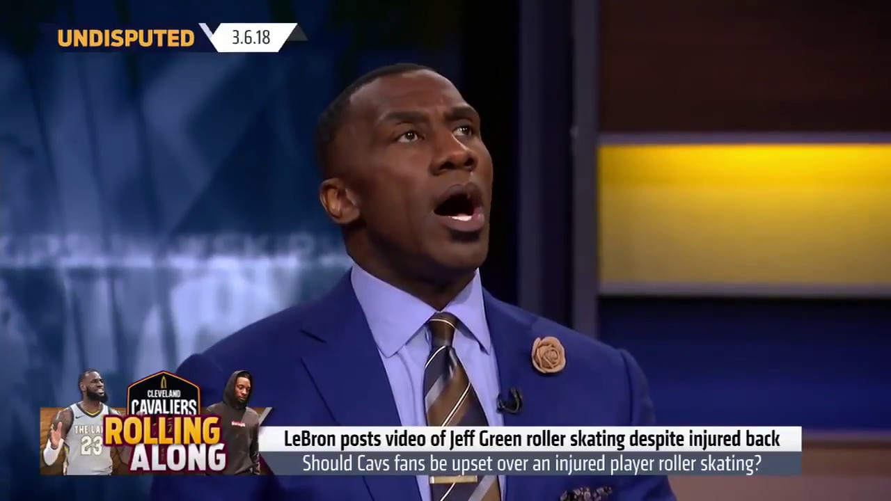 Skip Bayless: 'Did Lebron not snitch on Jeff Green'|UNDISPUTED 3/6/2018