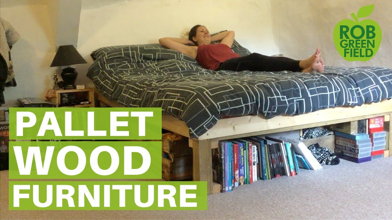 Jen Gardner Wasted Pallets To Beautiful Furniture Youtube