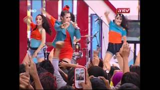 ZASKIA, MAHA DEWI, FITRI CARLINA Live Performed At Mantap (29-04-12) Courtesy ANTV