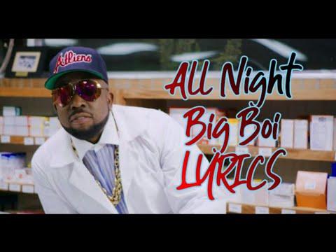 All night-Big boi full lyrics❤ iphone-X Ad song