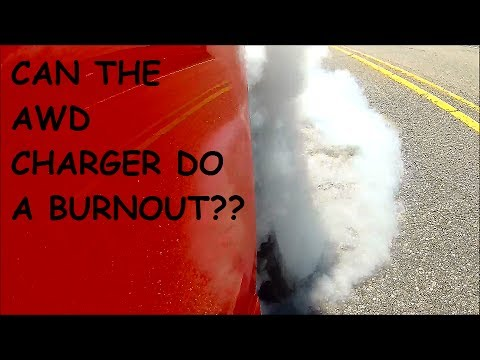 Charger AWD Burnout With Tazer Line Lock by Zautomotive