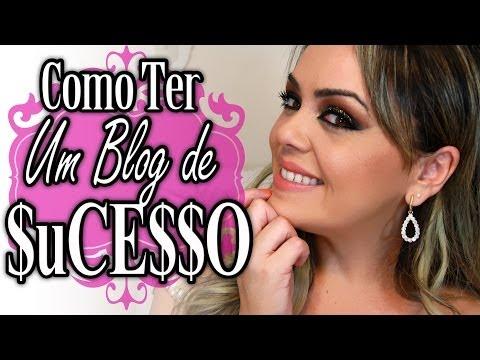 Como ter um blog de SUCESSO #DicaDeBlogueira