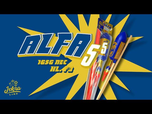 Iskra Line / ALFA 5 - IR-CB75-E / Gigantic rocket