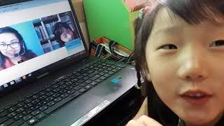 [화상영어 앤보임 수업] 다시보기 하는 7세 Eilee…