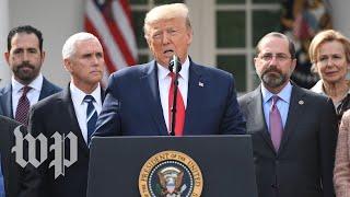 Trump declares national emergency in response to coronavirus