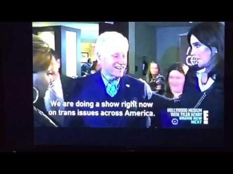 Hillary Clinton And Bill Clinton Meet Caitlin Jenner