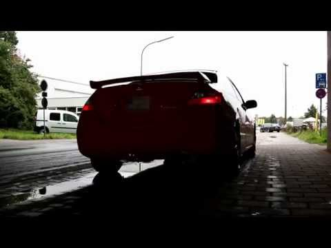 Honda Civic Si Invidia Q300 Exhaust