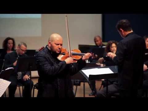 Boris Brovtsyn performs Rechtman 's arrangement of Tchaikovsky violin concerto