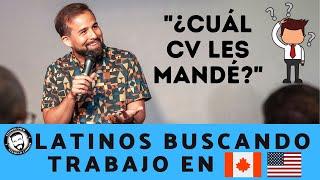 Latinos Buscando Trabajo en el 1er Mundo | Stephan Dyer | Stand Up Comedy