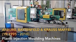 Download Arburg 200t Injection Moulding Machine Videos