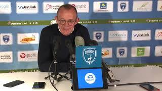 J30 : Chamois Niortais FC - FC Sochaux Montbéliard, conférence de presse