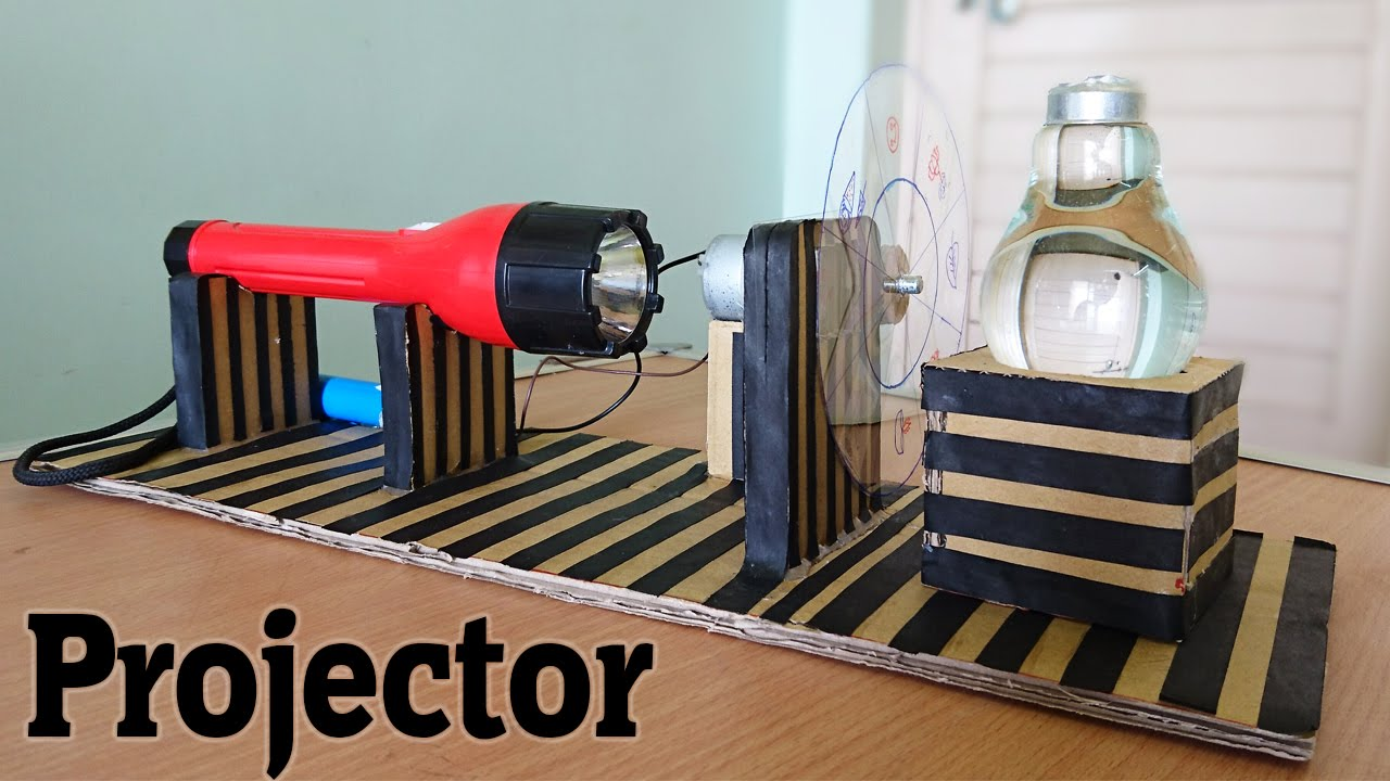 Ordinaire How To Make A Projector Using Bulb At Home   YouTube