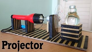 How to Make a Projector using bulb at Home thumbnail