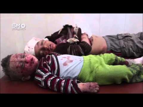 รัฐบาลซีเรียส่งเครื่องบินทิ้งระเบิดถล่มโรงเรียนและโรงพยาบาลในเดียร์ อัล อะซาฟิรฺ