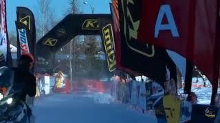 2018 Iron Dog  • Team 11 Crosses the Finish Line