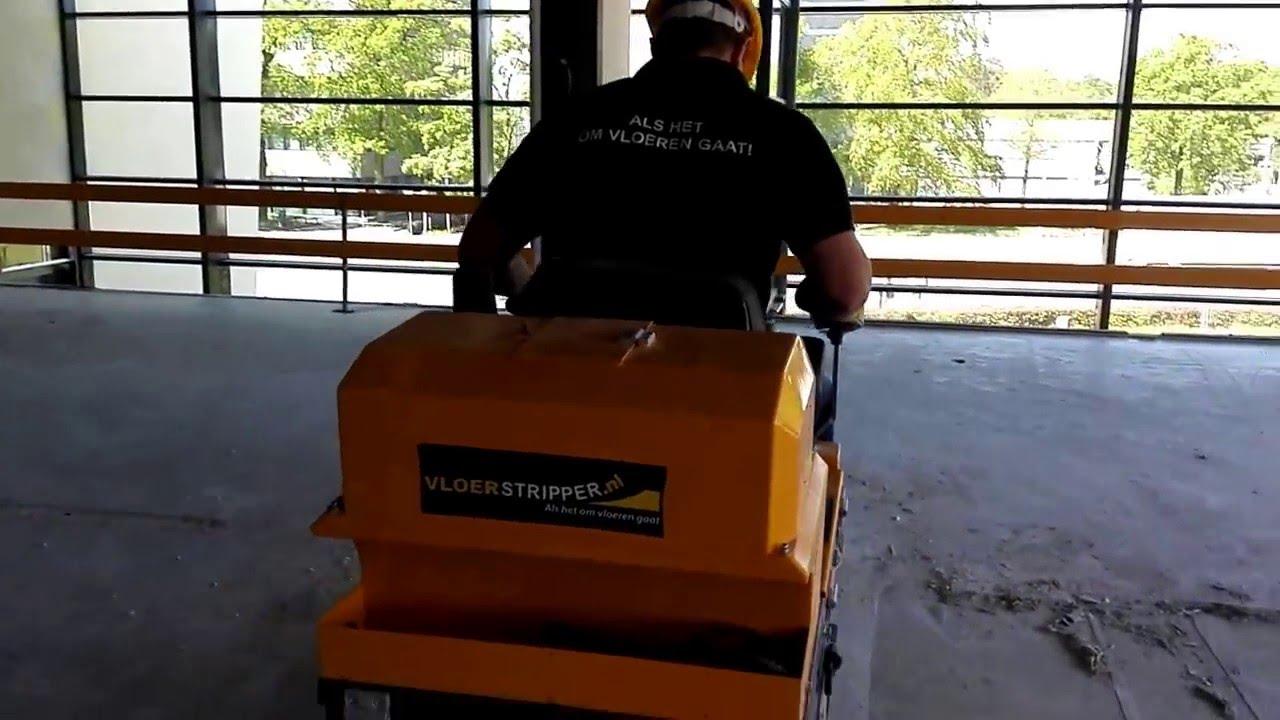 Vloerstripper linoleum vloer verwijderen youtube