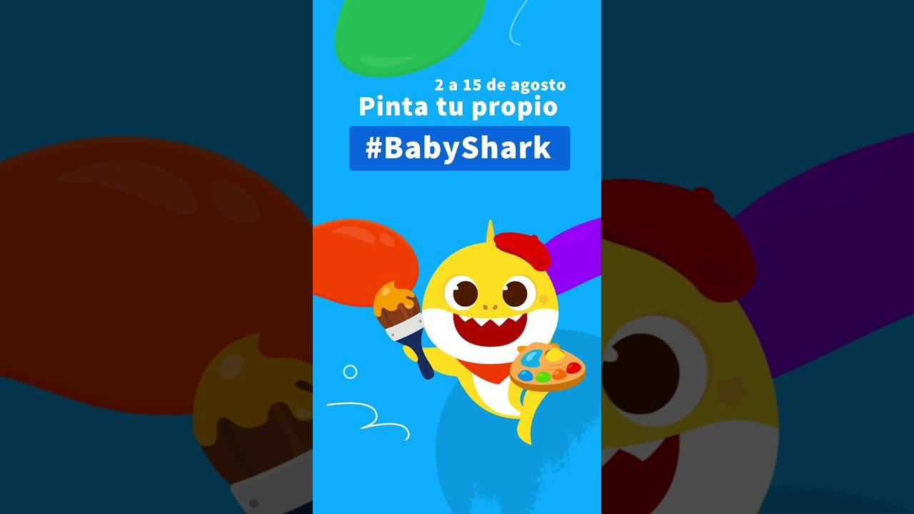 [Evento] ¡Pinta tu propio #BabyShark y obtén regalos! | Pinkfong Tiburón Bebé #shorts