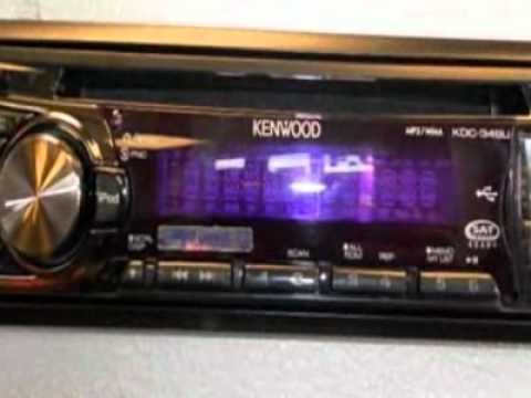 0 kenwood kdc 348u radio naperville il youtube. Black Bedroom Furniture Sets. Home Design Ideas