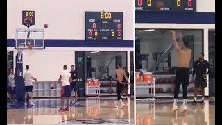 Ben Simmons Getting Comfortable With His New Jumper At Practice! | Philadelphia 76ers |