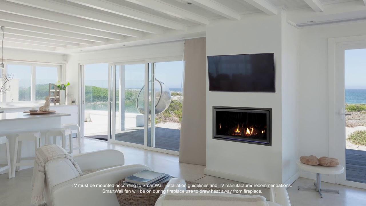 Heat Glo Cosmo Series Gas Fireplace Youtube