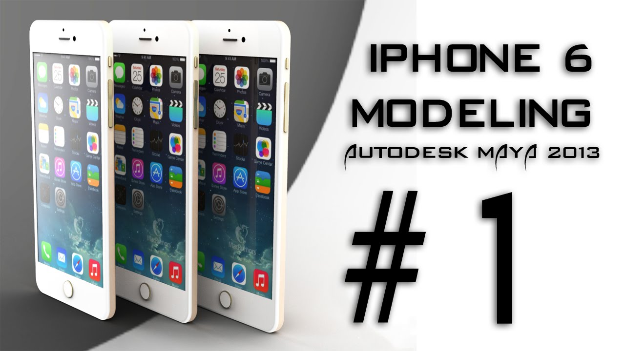 iphone 6 tutorial iphone 6 3d modeling part 1 modeling iphone 6 11436