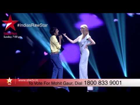 A sneak peek into Mohit's performance on India's Raw Star