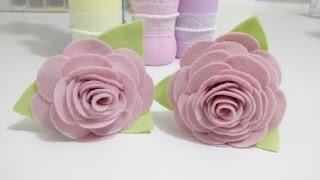 Flores de feltro – Passo a passo por Lisandra Monteiro
