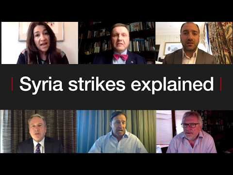Syria air strikes Explained - BBC News