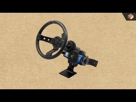 DDW 1/10 RC Steering Wheel V1 In Action