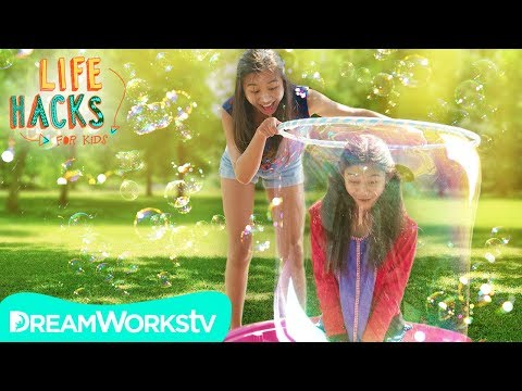 Giant Bubble Maker + More Babysitting Games | LIFE HACKS FOR KIDS