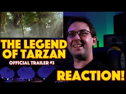 REACTION! The Legend of Tarzan Official...