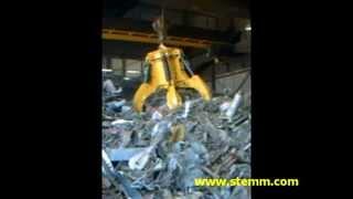 STEMM Orange Peel Motor Grab for Scrap