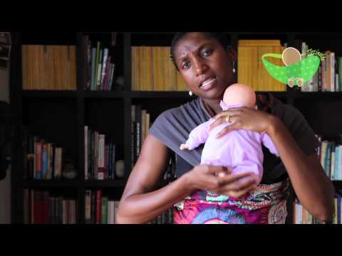 How to carry an 'infant' in a Zozinette Baby Wrap
