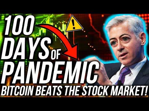 BITCOIN BEATS THE STOCK MARKET! 100 DAYS OF PANDEMIC! Ethereum BEARISH?! Business & Crypto News