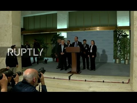 LIVE: New round of Syria peace talks in Geneva: stakeout by Syrian opposition's HNC