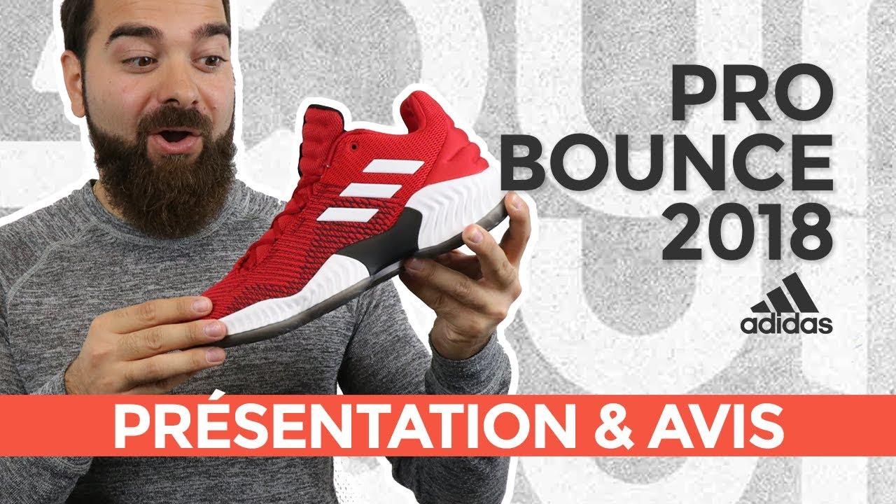 info pour 3f55a 9d98d adidas Pro Bounce 2018 : Présentation & avis