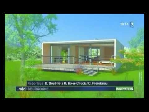 Maison container reportage france 3 bourgogne youtube for Maison container reportage m6