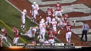 Oklahoma Sooners 2012 Top 10 Offensive Plays