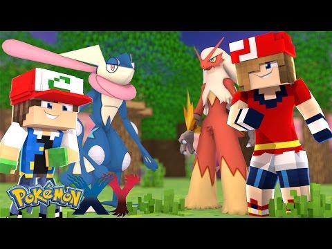 Minecraft: Pokemon X Y - FILHO DO ASH E MAY ESTAO JUNTOS #21