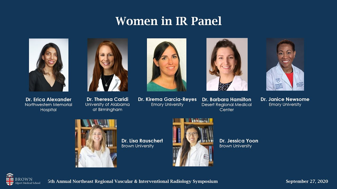 [2020 NE Regional VIR Symposium] Women in IR Panel
