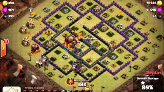 Clash of Clans: TH10 3 Stars with Easy Riders [Replays]