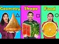 Geometric Shaped Food Challenge Hungry Birds  Lagu123 Mp3 - Mp4 Stafaband