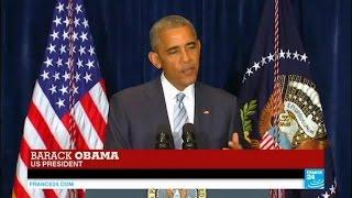 US president Barack Obama on police violence: