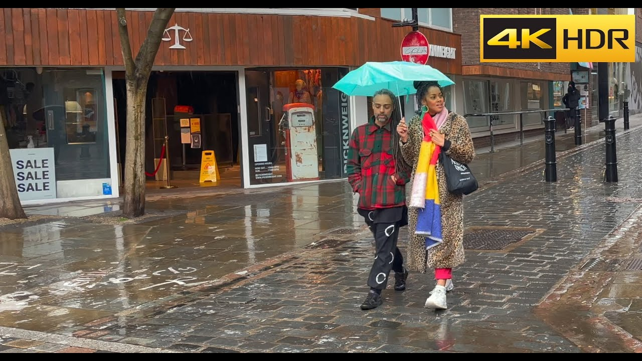 Download London Rain Walk- May 2021🌧Central London West End🌦 Relaxing Rain Sounds [4K HDR]