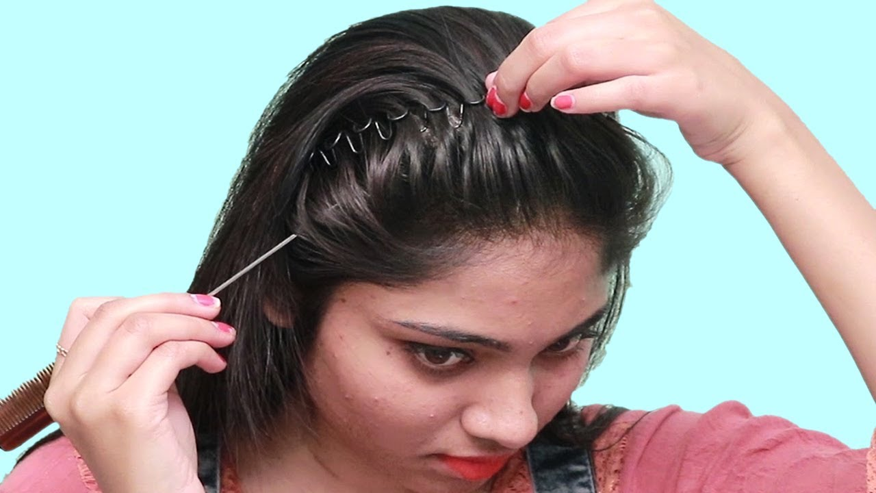 Beautiful Self Hairstyles For Party New Hairstyles For Long Hair Self Hairstyles 2019 Youtube